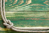 Marine rope knotted — Foto de Stock