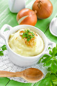 Potato puree — Stock Photo