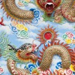 Chinese Temple Wall Art — Stock Photo