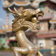 Dragon in Chinese temple — Stock Photo
