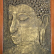 Stock Photo: Buddha door panel