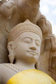 Figura di buddha di pietra — Foto Stock