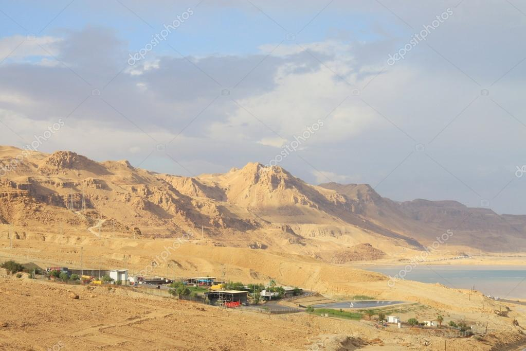 View on the Dead sea in Israel. — Stock Photo #15855781
