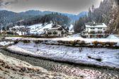 Brasov Romania in the winter — Stock Photo