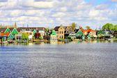 Zaanse Schans in Holland — Stock Photo