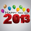 Royalty-Free Stock Векторное изображение: Happy new year 2013