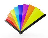 FAN (multi color) — Stock Photo