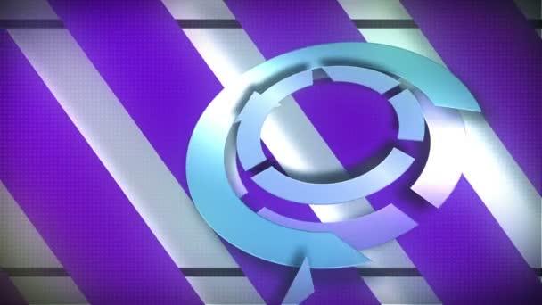 Retro-mechanical background — Vidéo