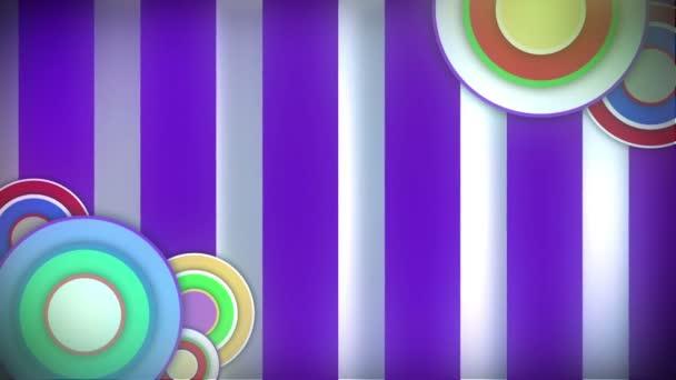 Loop retro  background — Vidéo