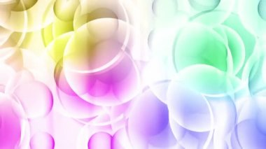Abstract background. Color spheres 3 — Stock Video