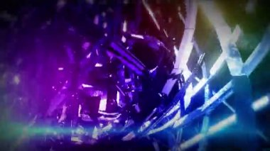 Abstract figure. Abstract technology background — Stock Video