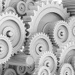 Stock Photo: Mechanical gears
