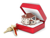 House with keys — Stock Photo