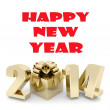 Happy new year 2014 Illustrations 3d — Stock Photo #35852795
