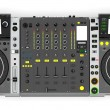 DJ music mixer isolerade — Stockfoto #40088991