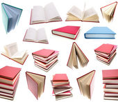 Books isolated on plain background. — Stock Photo
