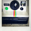 Polaroid camera. - Stock Photo