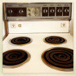 Stock Photo: Stove top