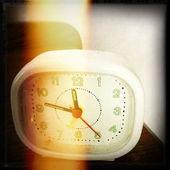 Closeup of old alarm clock — Stock Photo