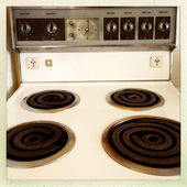 Stove top — Stock Photo