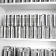 Foto de Stock  : Tin cans