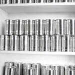 boîtes de conserve — Photo