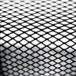 Closeup detail of metal mesh - Stock Photo