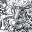 Nuts and bolts — Stock Photo #18913847