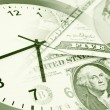 Time is money concept — Stock Photo #19845669