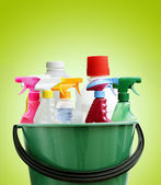 Cleaning bottles — Stock Photo