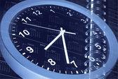 Klocka och kalender — Stockfoto