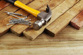 Carpentry still life — Stock Photo