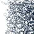 Nuts and bolts — Stock Photo #22350447