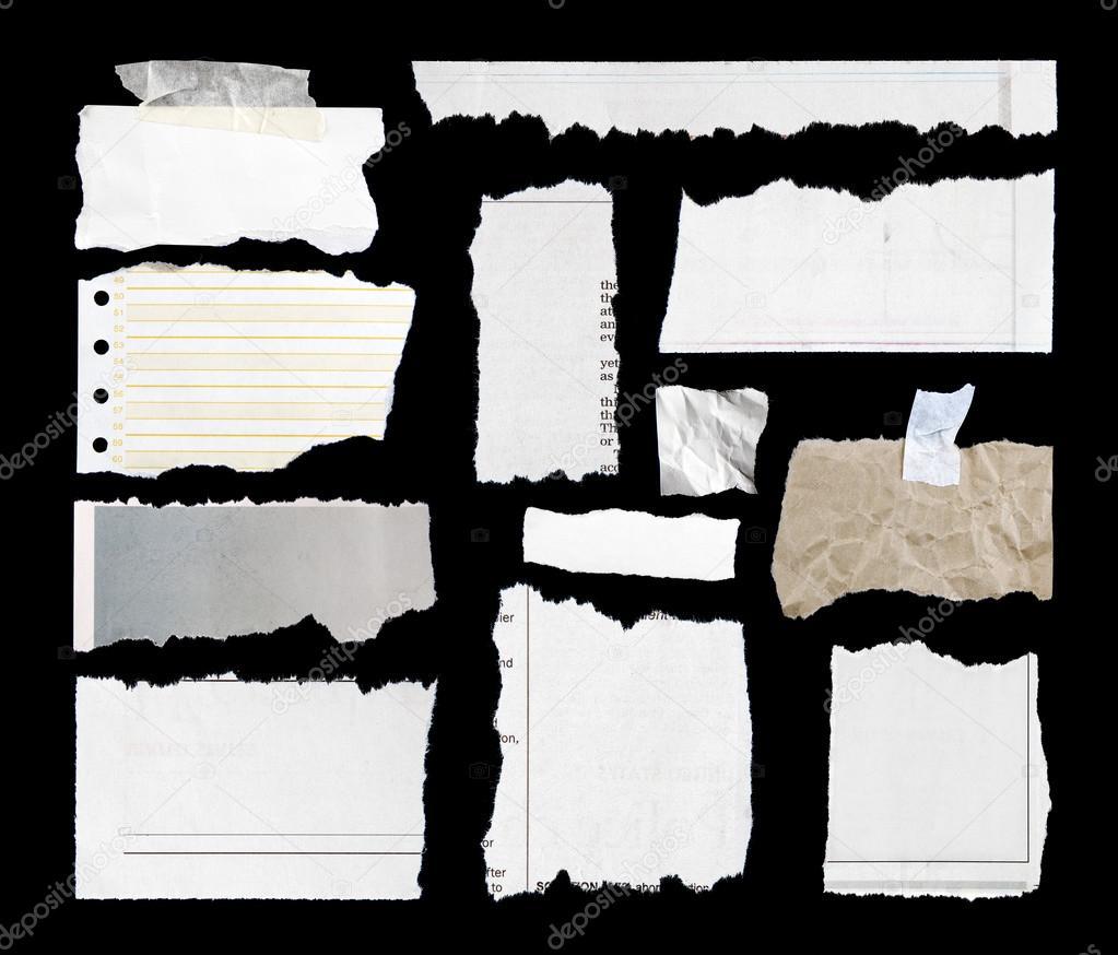 Как сделать рваные края на бумаге