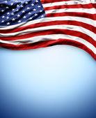 Bandera americana — Foto de Stock
