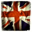 Union Jack flag - Stock Photo