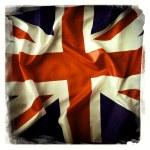 Bandiera Unione jack — Foto Stock