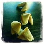 Fortune cookies — Stock Photo
