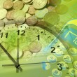 Time is money concept - Foto Stock