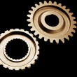 Two cogwheels — Stock Photo #24032997