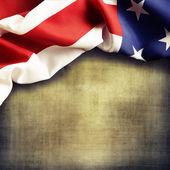αμερικανική σημαία — Φωτογραφία Αρχείου