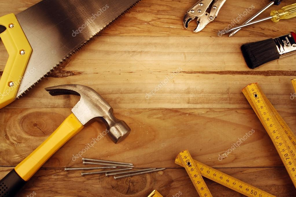 Carpentry wallpaper