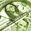 Stock Photo: Time is money concept