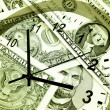 Time is money concept — Stock Photo