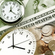 Time is money concept — Stock Photo #31232689