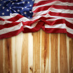 bandeira americana — Fotografia Stock  #31987909