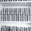 Stock Photo: Tin cans
