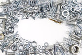 Nuts and bolts — Stock Photo