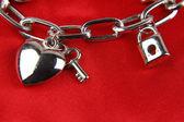 Charm bracelet — Stock Photo