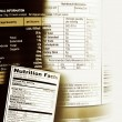 Nutrition facts  — Stock Photo #41652447